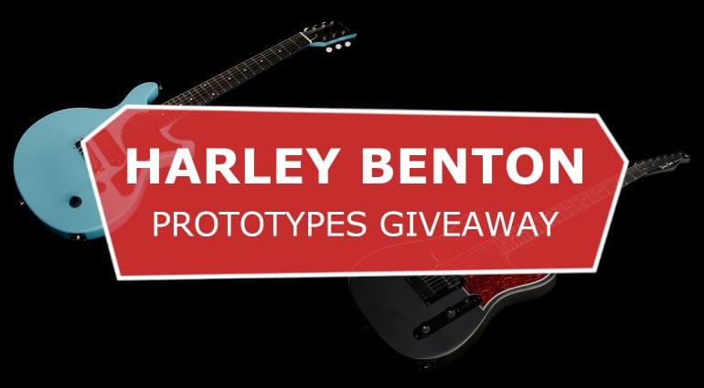 Harley Benton Prototypes Giveaway