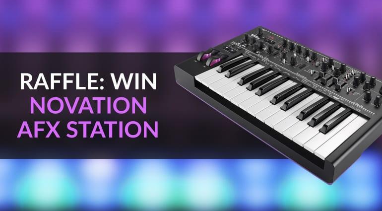 Novation AFX Station Raffle Giveaway Competition