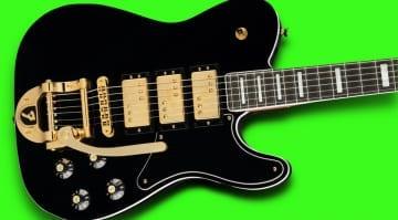 Fender Parallel Universe Vol II Troublemaker Tele Deluxe Bigsby
