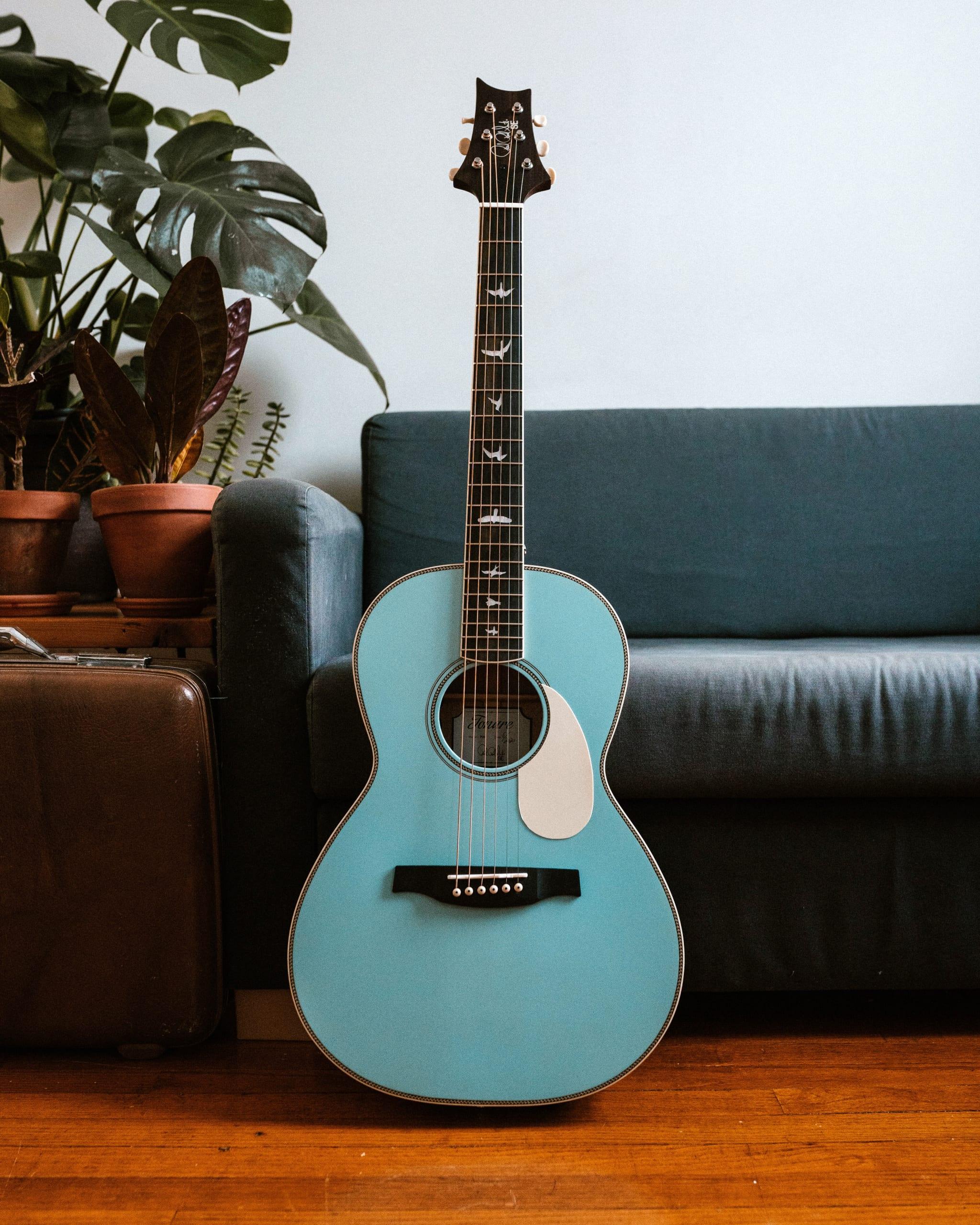 PRS limited edition SE P20E parlour acoustic Powder Blue?