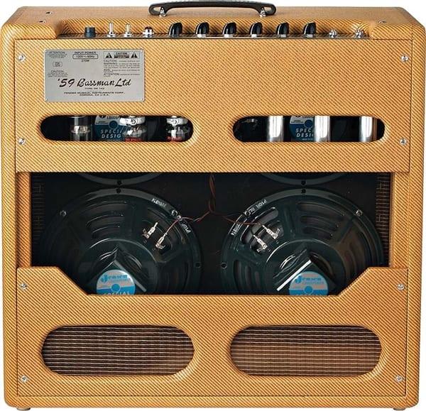 Fender '59 Bassman LTD - back