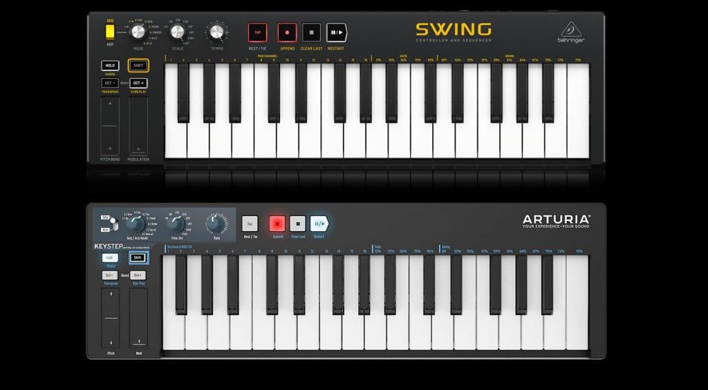 The original SWING design alongside the KeyStep