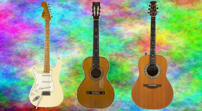 Bob Marley and Jimi Hendrix guitars up for auction