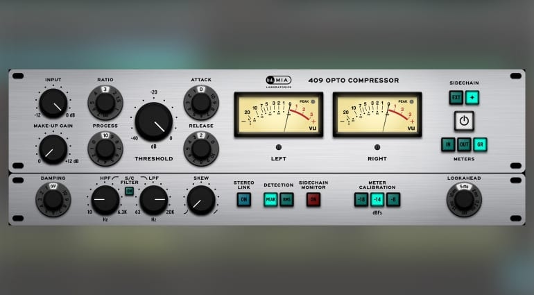 MIA Laboratories 409 Opto Compressor