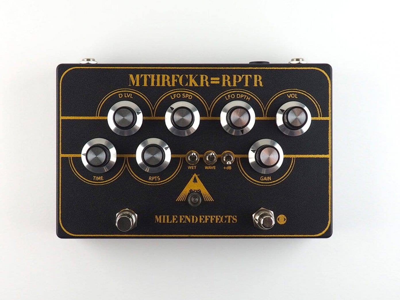 Mile End Effects' new mthrfckr=rptr pedal
