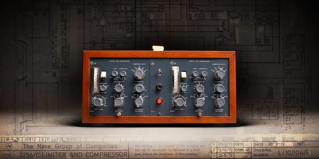 Neve 2254/E compressor and limiter