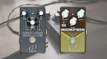 Crazy Tube Circuits Constellation CV7003 fuzz and Memphis preamp/vibrato
