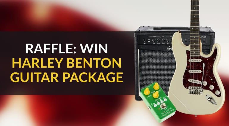 Harley Benton Guitar Pack