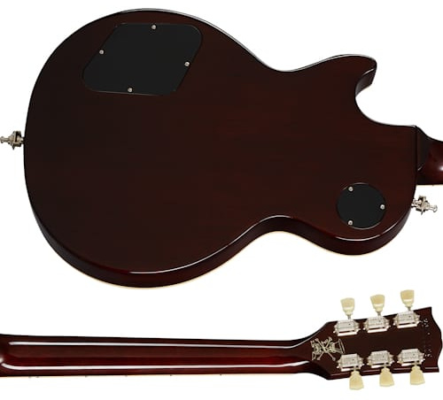 Gibson Slash Victoria Les Paul Standard Goldtop with a dark back