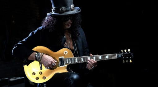 "Gibson Slash ""Victoria"" Les Paul Standard Goldtop"