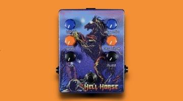 Haunted Labs & Dirty Haggard Audio's Hell Horse Fuzz Delay = Stoner Doom Heaven
