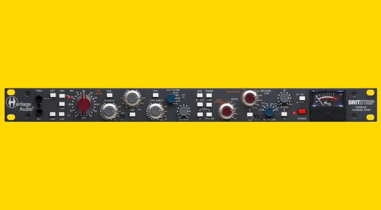 Heritage Audio Britstrip - front
