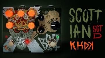 KHDK Electronics Scott Ian SGT D boost:preamp pedal