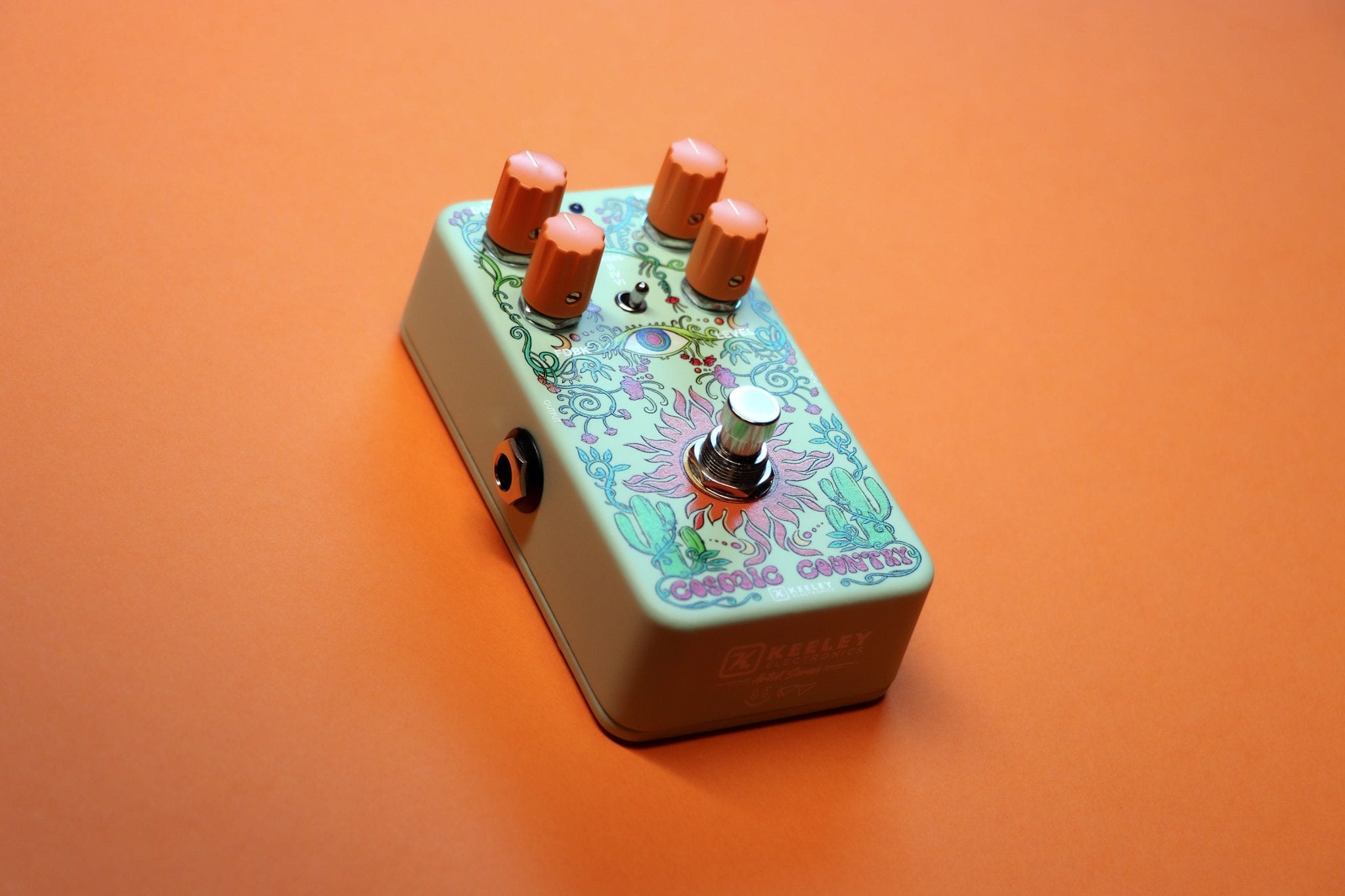 Keeley Artist Series Daniel Donato Cosmic Country Phaser