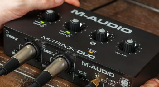 M-Audio M-Track Duo featured