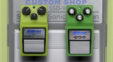 Maxon Super Sonic Distortion SSD-9 and Fortin-Modded OD-9