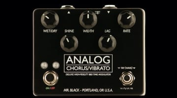 Mr Black Analog Chorus:Vibrato Deluxe