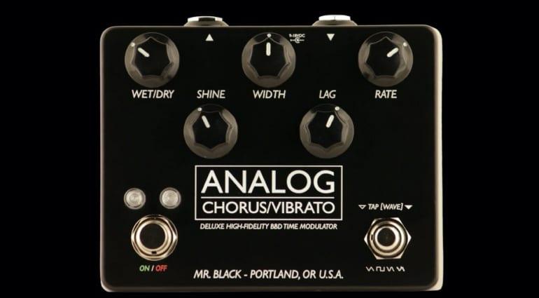 Mr Black Analog Chorus:Vibrato Deluxe