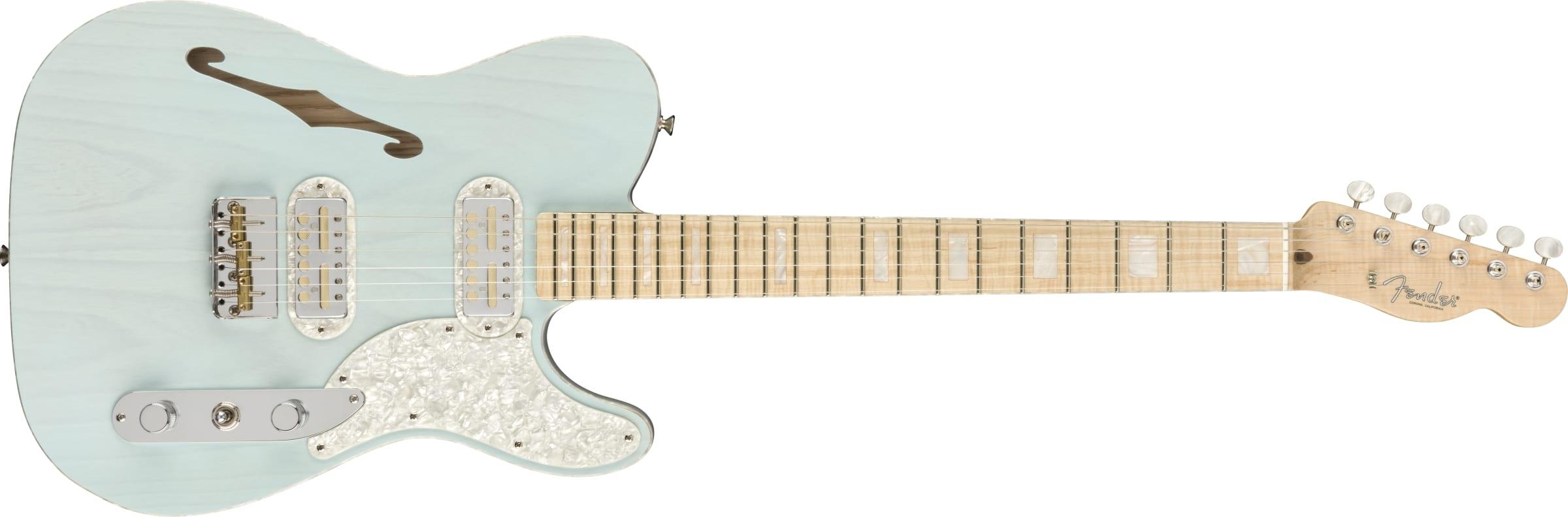 Fender Parallel Universe Volume II Tele Mágico Trans Daphne Blue