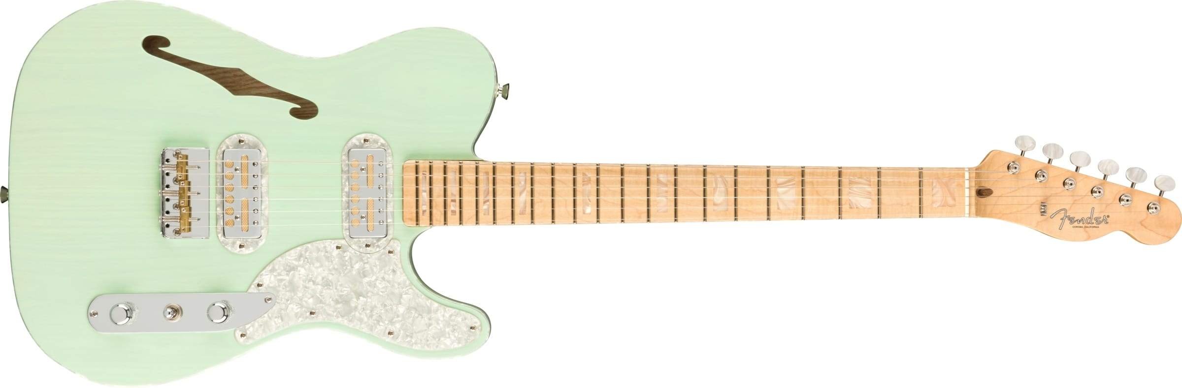 Fender Parallel Universe Volume II Tele Mágico Trans Surf Green