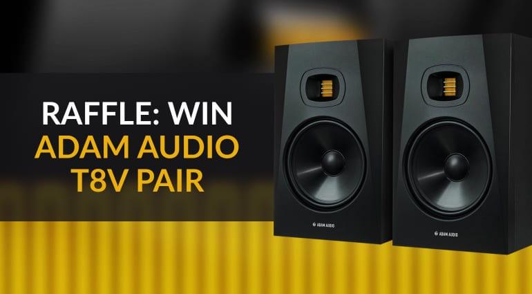 Win ADAM Audio T8V Monitors