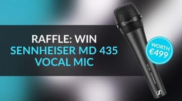 Win a Sennheiser MD 435 Gearnews Holiday Raffle