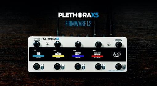TC Plethora-X5 1.2 update