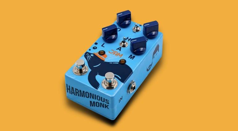 That Pedal Show & Jam Pedals Harmonious Monk harmonic tremolo pedal