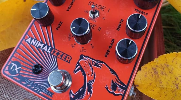 Tone Electronix Animalizzer multi-drive and fuzz pedal