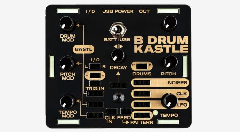 Bastl Instruments Kastle Drum