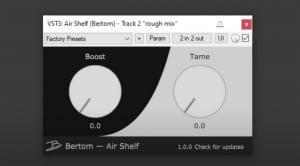 Bertom Air Shelf