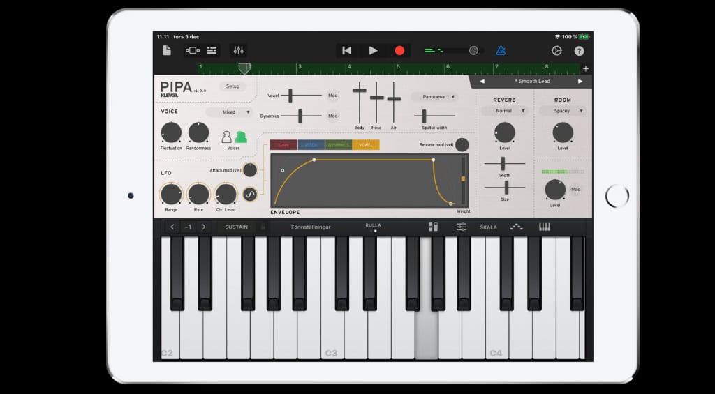 Klevgrand Pipa iPad