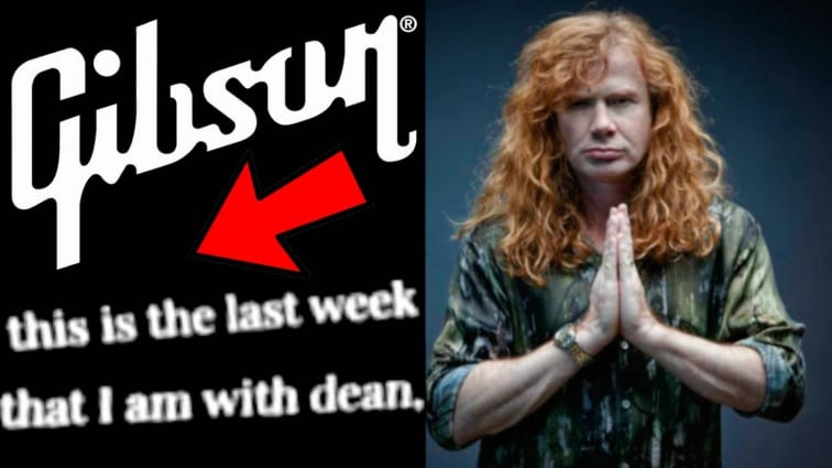 Is Dave Mustaine joining Gibson?