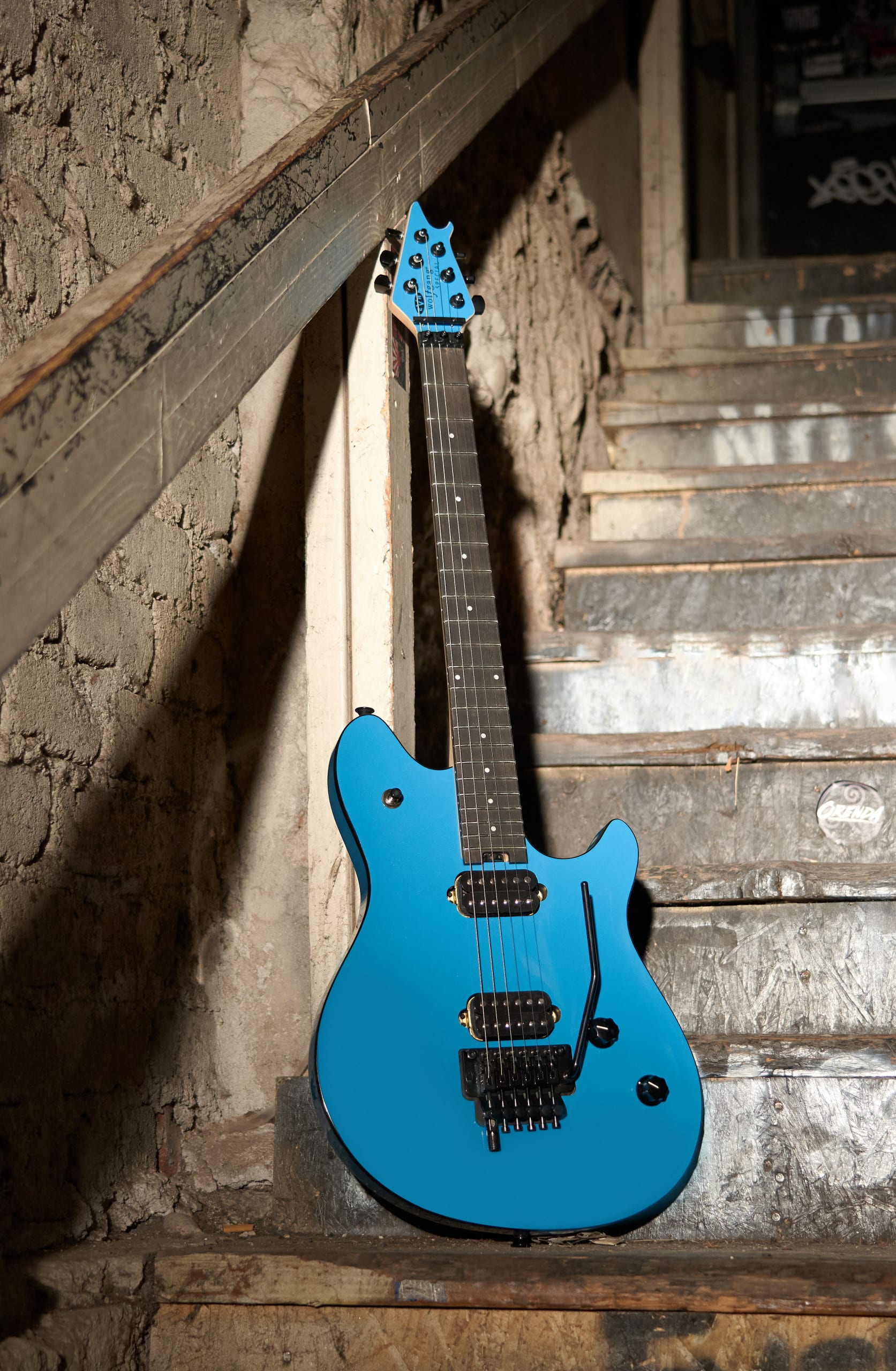 EVH Wolfgang Special in Miami Blue