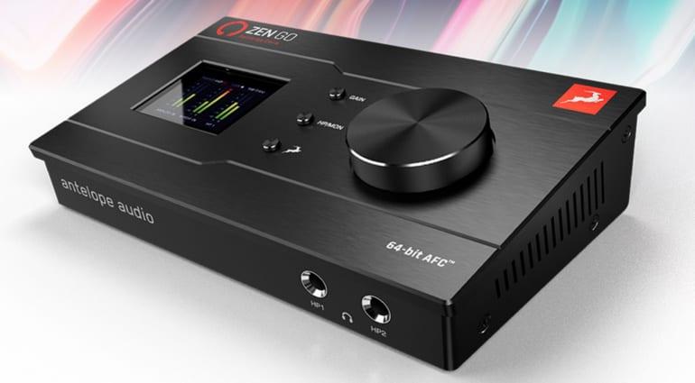 Antelope Audio Zen Go Synergy Core destacado