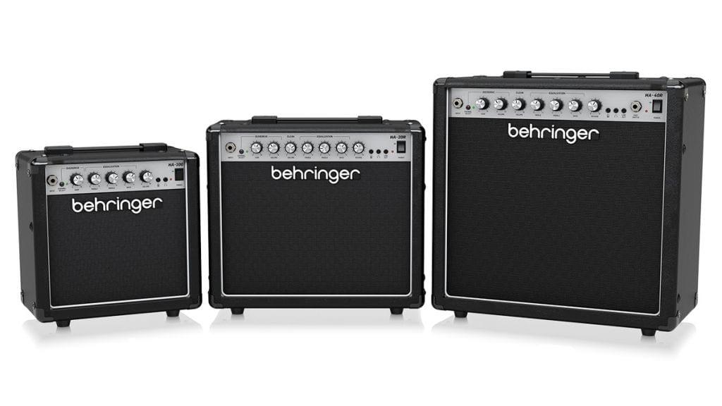 Behringer HA-10G , HA-20R andHA-40