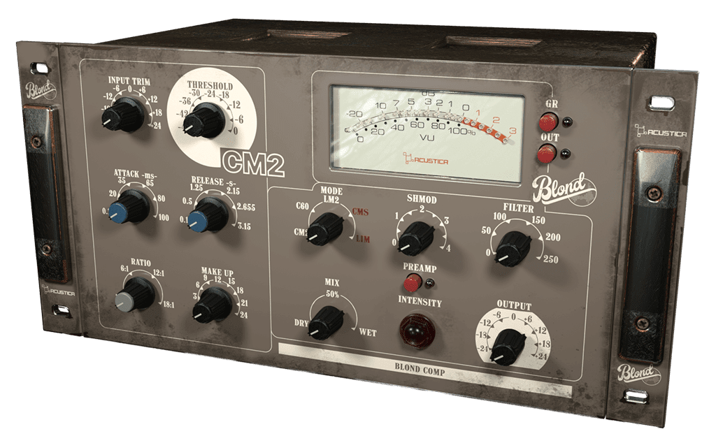 Acustica Audio Blond: A rackful of old-time Italian audio gear emulations