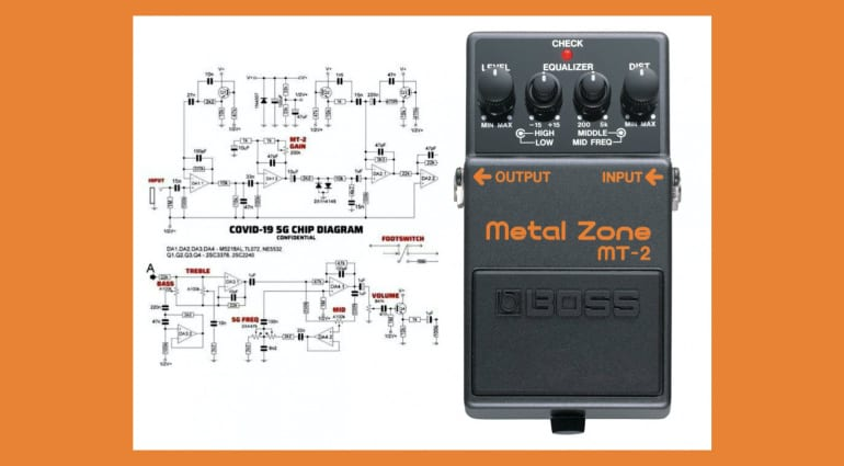 COVID Conspiracy theorists claim Boss Metal Zone is a secret 5G chip