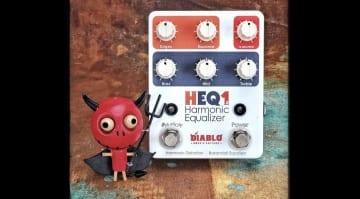 El Diablo Amps & Guitars HEQ1.2 Harmonic Equalizer fuzz