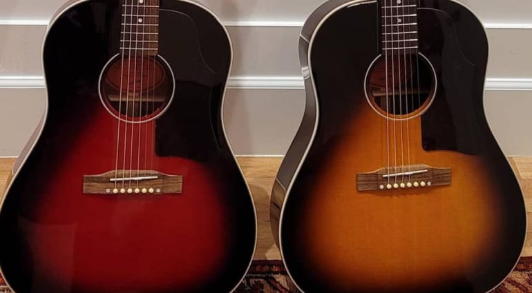 Epiphone Slash J-45 signature model acoustic
