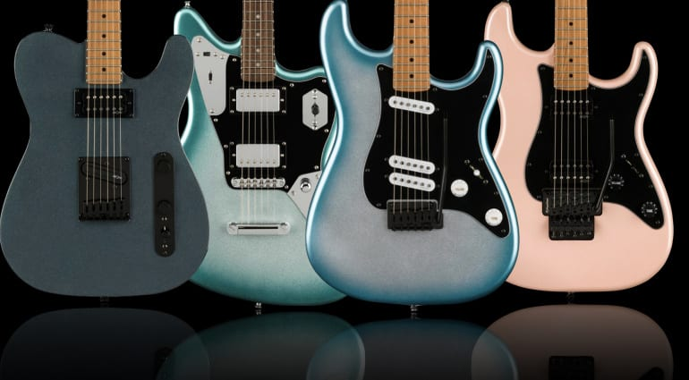 Fender Squier Contemporary Series with huge upgrades
