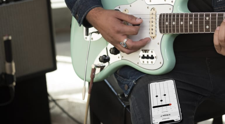 Fender giving away the Fender Tune Player Pack