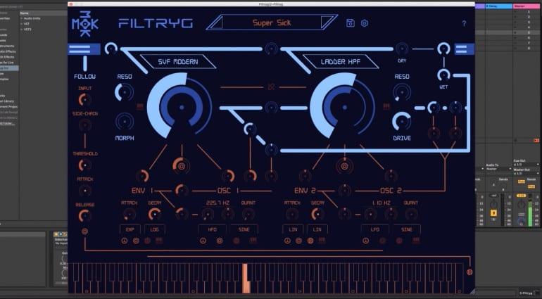 Filtryg filter plug-in