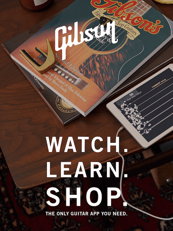 Gibson App with Audio Augmented Reality