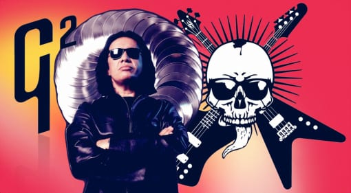 Gibson and Gene Simmons to collaborate on new line of G² instruments
