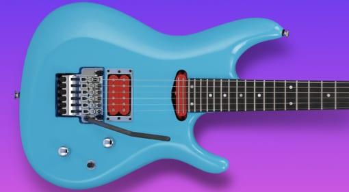 Ibanez Joe Satriani JS2410 Sky Blue