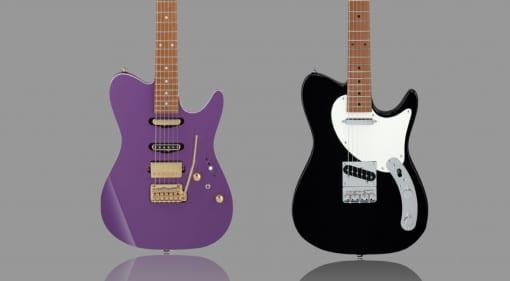 Ibanez Lari Basilio LB1 and Josh Smith FlatV1 signature models