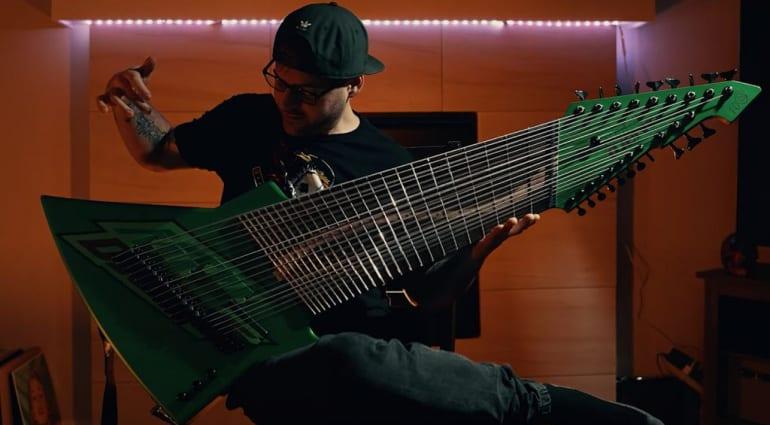 Jared Dines Mountain Djent Guitar