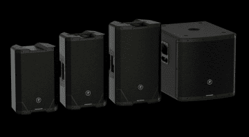 Mackie SRT powered loudspeaker series