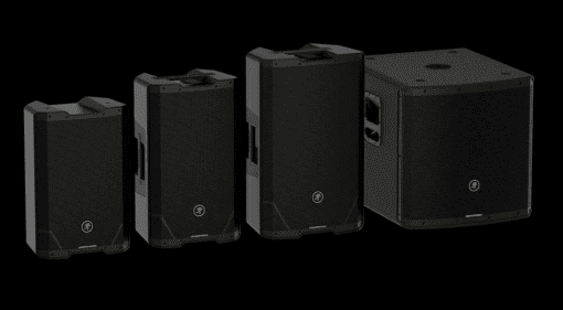 Mackie SRT powered loudspeaker series